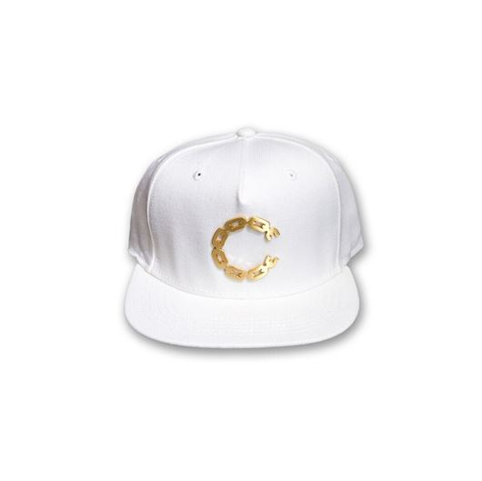 Picture of Thuxury Chain C Snapback White