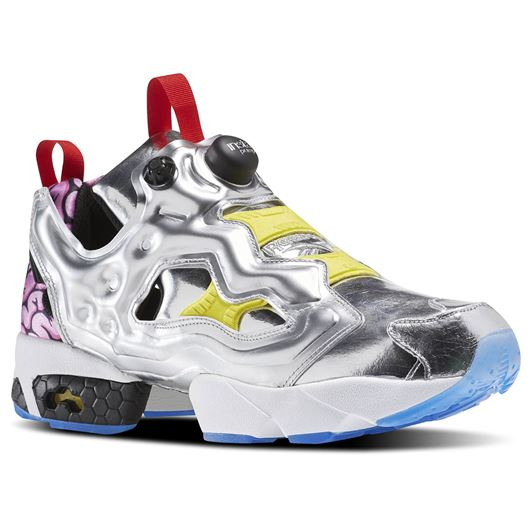 Picture of Instapump Fury OG Villains Pack Metal/Black/Bright Yellow/Scarlet-Ice