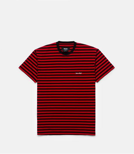 Picture of YMD Striped Tee Red