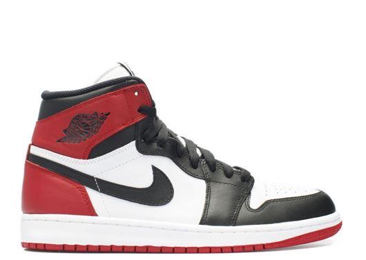 Picture of Air Jordan 1 Retro High OG White/Black/Red
