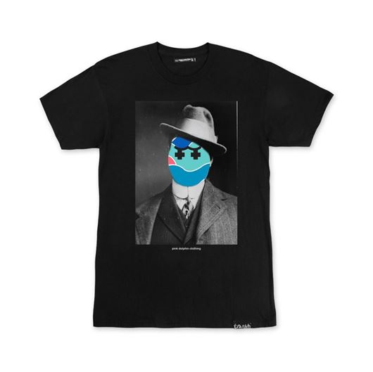 Picture of GHOST SINCLAIR TEE Black