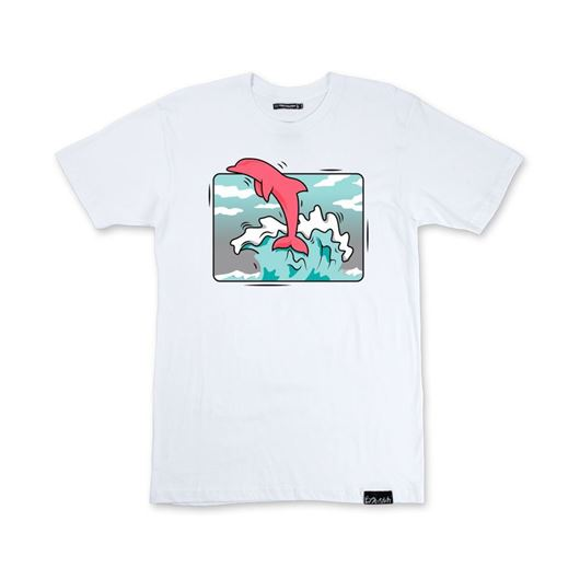 Picture of BOX WAVE TEE White