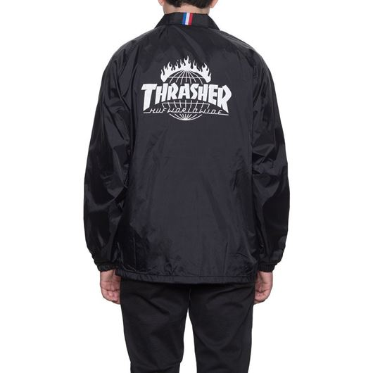 Picture of Thrasher TDS Coach's Jacket Black