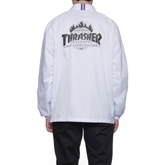 Picture of Thrasher TDS Coach's Jacket White