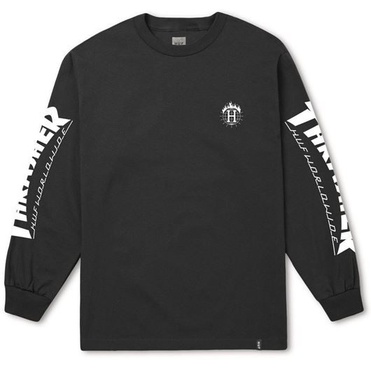 Picture of Thrasher TDS L/S Tee Black