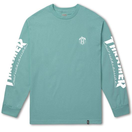 Picture of Thrasher TDS L/S Tee Mint