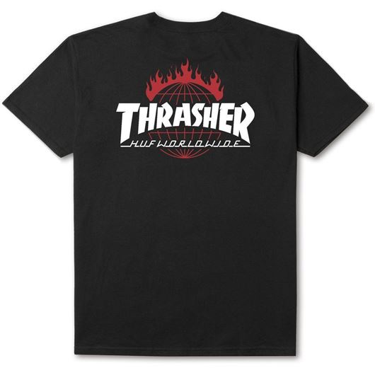 Picture of Thrasher TDS Tee Black