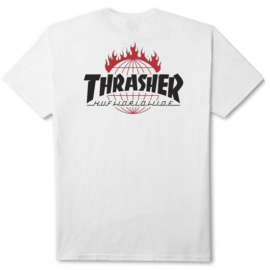 Picture of Thrasher TDS Tee White