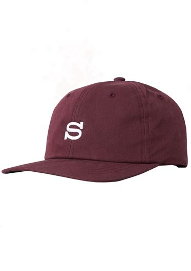 Picture of Cotton Nylon Cap Burgundy