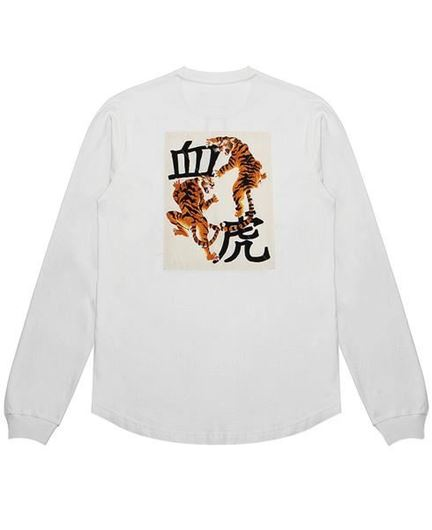 Picture of Blood Chit Tee Off White