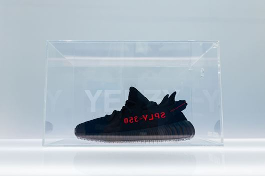 "Picture of Fresh Box ""YEEZY"" Custom Clear"