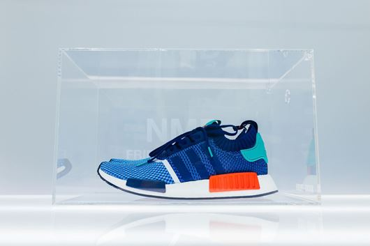 "Picture of Fresh Box ""NMD Friends & Family"" Custom Clear"