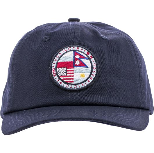 Picture of VCTRY PTCH Strapback Navy