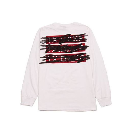 Picture of WTH STACK L/S Tee White