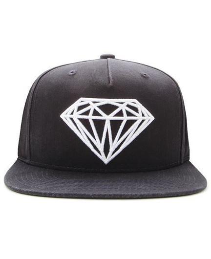 Picture of Brilliant Snapback Diamond Black