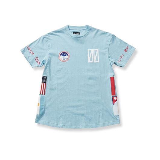 Picture of SUMMIT TEAM S/S Tee Light Blue
