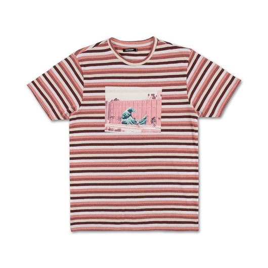 Picture of SHADES OF STRIPE TEE Pink