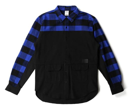 Picture of Parker L/S Shirt Black