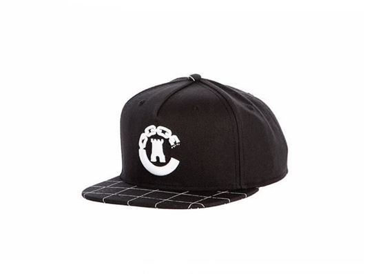 Picture of Hybrid C Grid Snapback Black