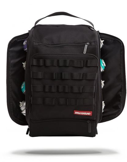 Picture of Black Graffiti Utilitiy Bag