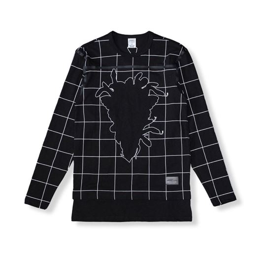 Picture of Blotter L/S Tee Black