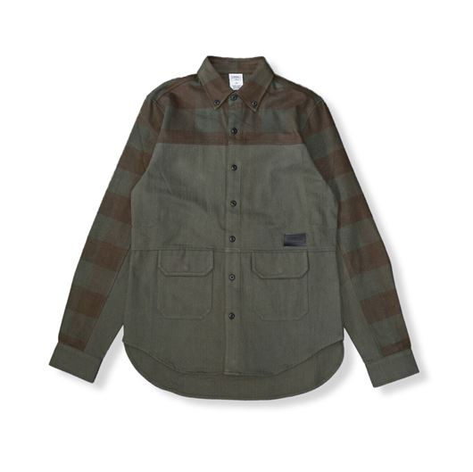 Picture of Parker L/S Shirt Rifle Green