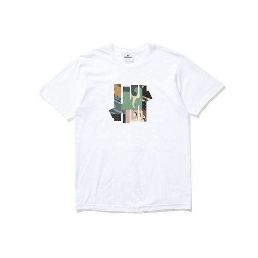Picture of Patchwork strike tee White