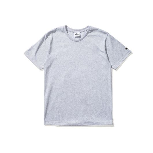 Picture of Felt patch strike tee Grey Heather