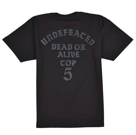 Picture of Dead or alive tee Black