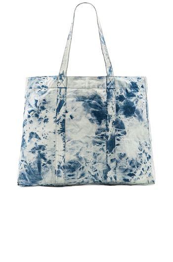 Picture of Acid wash beach tote bag Indigo