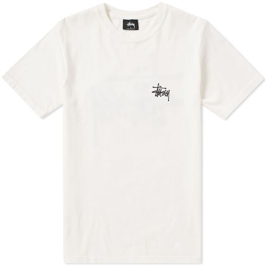 Picture of Basic stussy pig. Dyed tee Natural