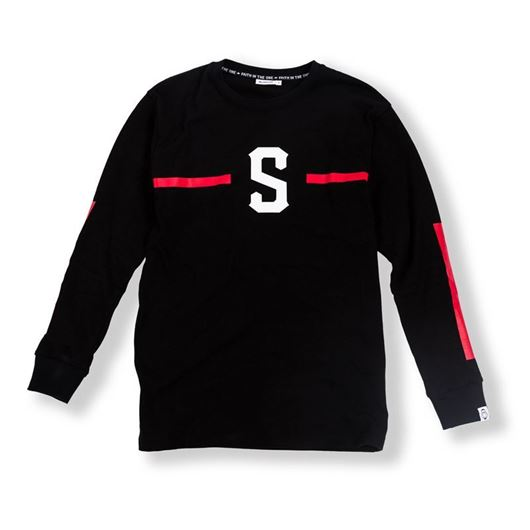 Picture of S Knight L/S Tee Black