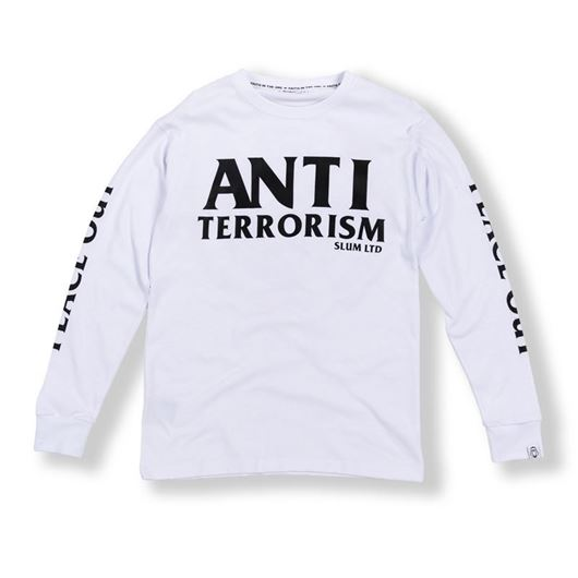 Picture of Anti Terrorism L/S Tee White