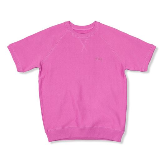 Picture of Stock raglan s/s crew Pink