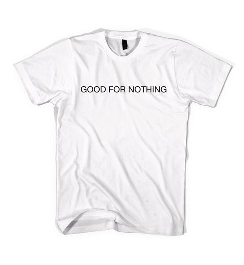 Picture of GOOD FOR NOTHING T-SHIRT White
