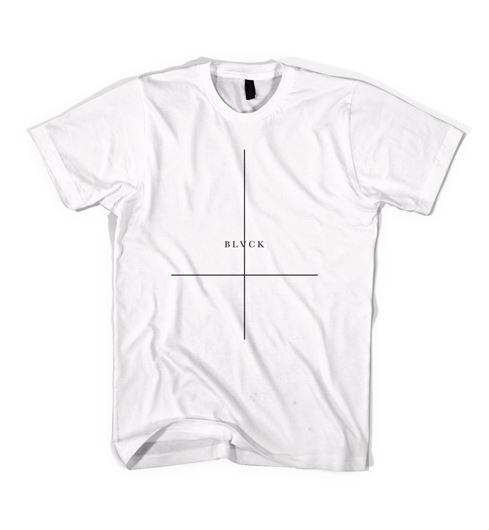 Picture of CROSSED T-SHIRT White