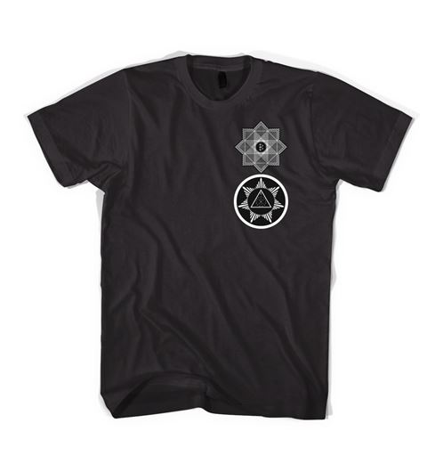 Picture of TREDIC X STAR T-SHIRT Black