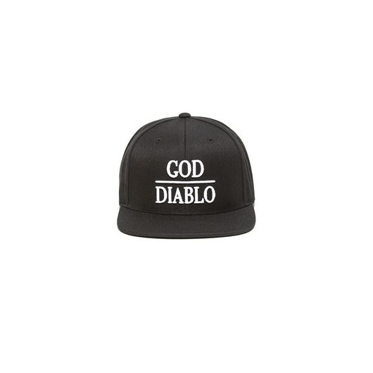 Picture of GOD DIABLO SNAP BACK Black
