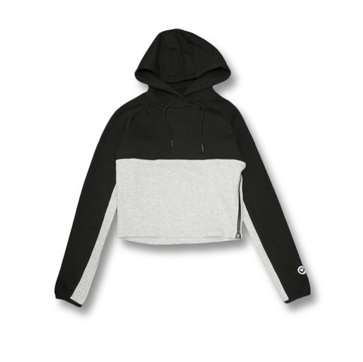 Picture of Crown Hoody Black-Heather Ghost