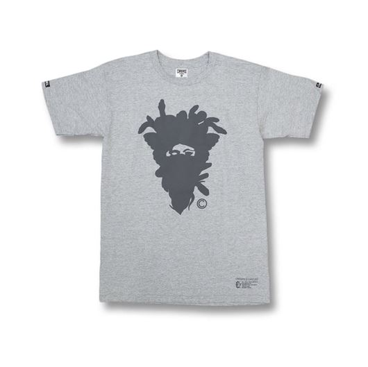 Picture of Cryptic Medusa Tee Heather Grey