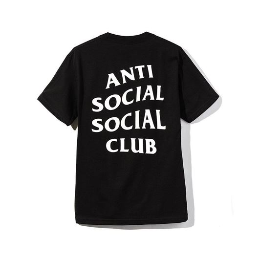 Picture of Font Logo Tee Black