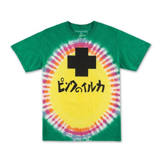 Picture of PROMO TIE DYE TEE Yellow
