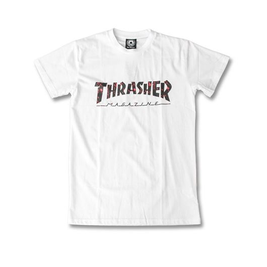 Picture of SPLATTER HOMETWON Tee White