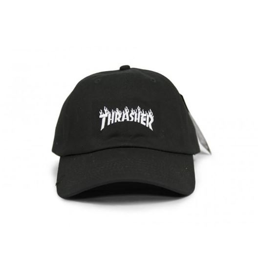 Picture of SM17 FLAME DAD HAT Black