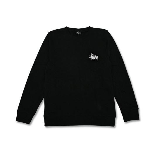 Picture of BASIC STUSSY CREW Black