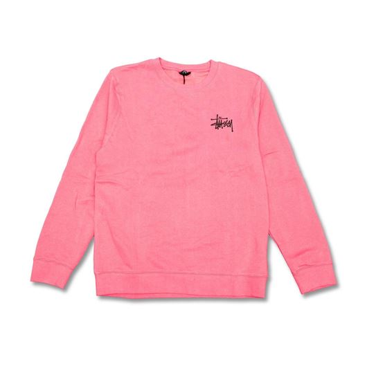Picture of BASIC STUSSY CREW Dark Pink