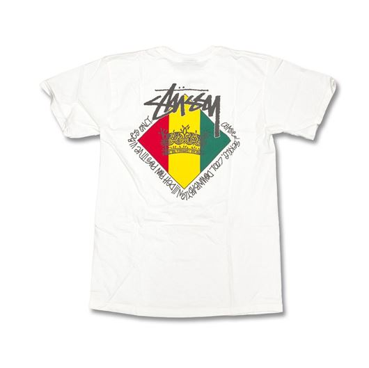 Picture of Reggae Diamond Pig. Dyed Tee Natural