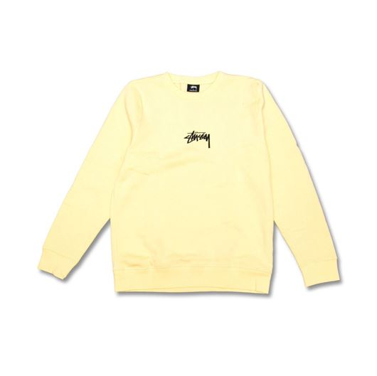 Picture of Stock crew Pale Yellow