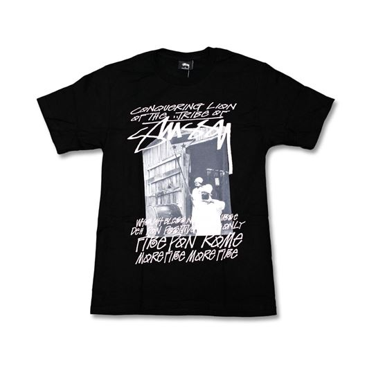 Picture of TRIBE OF STUSSY TEE Black