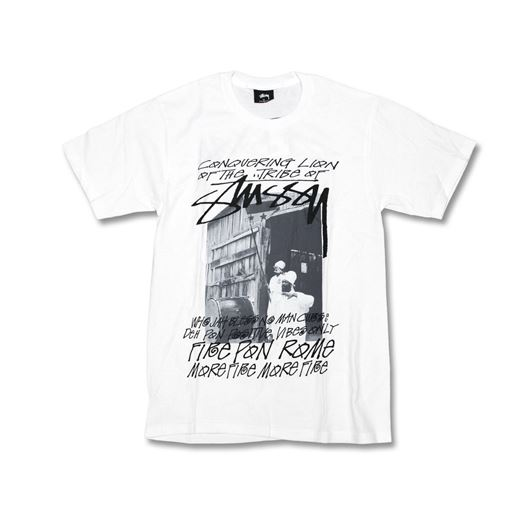 Picture of TRIBE OF STUSSY TEE White